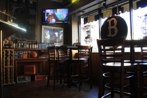 Bar with 20 craft beers on draft
